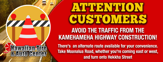 Attention Customers - Avoid the Traffic!