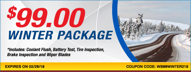 Winter Package at $99.00