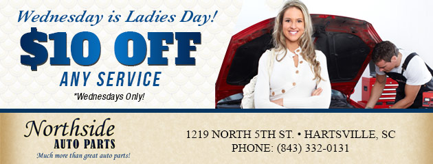 Wednesday is Ladies Day! - Receive $10 Off Any Service