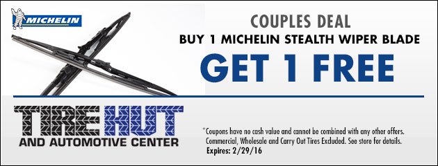 Couples Deal - Michelin Wiper Blades