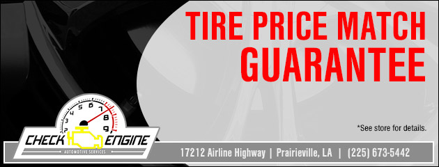 Tire Price Match Guarantee!