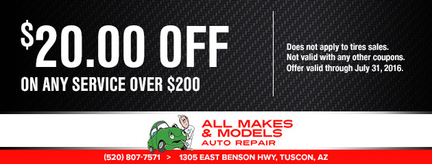 $20 off on any service over $200