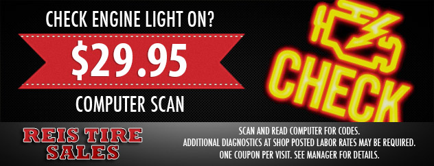 Check Engine Computer Scan for $29.95