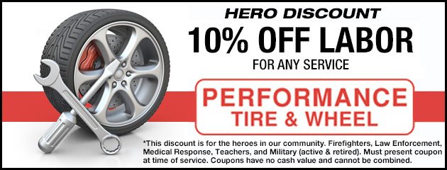 Hero Discount - 10% Off Labor