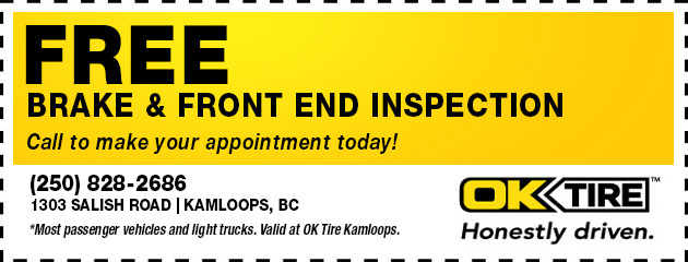 Free Brake and Front End Inspections
