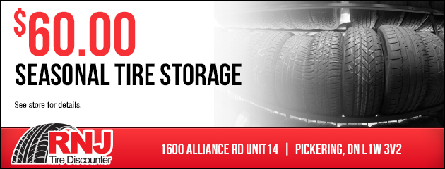 Seasonal Tire Storage - $60.00