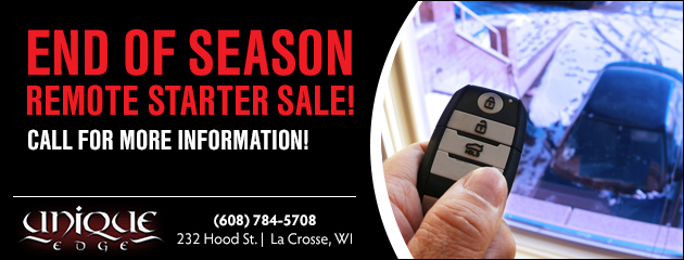 End of Season Remote Starter Sale!
