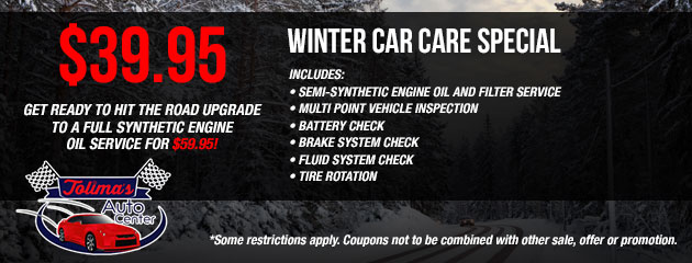 Winter Car Care Speical