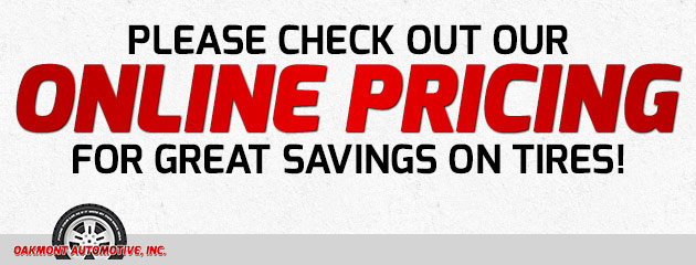 Check out our Online Pricing