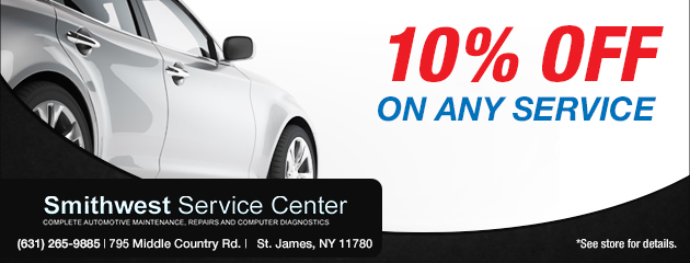 10% Off Any Service Coupon