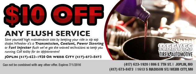 $10.00 off any Flush Service