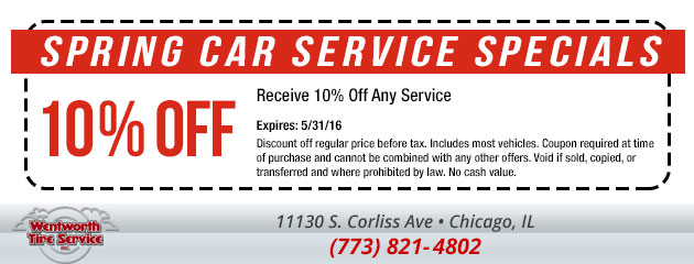 10% Off Any Service Special