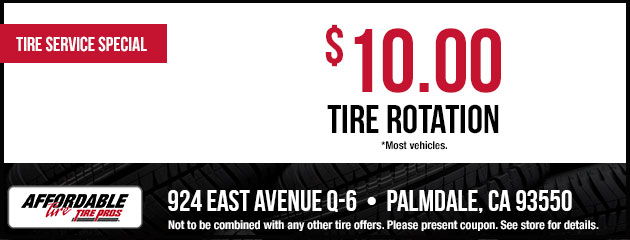 $10.00 Tire Rotation Coupon