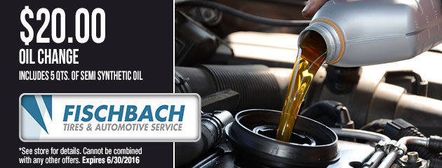 $20.00 Oil Change Coupon