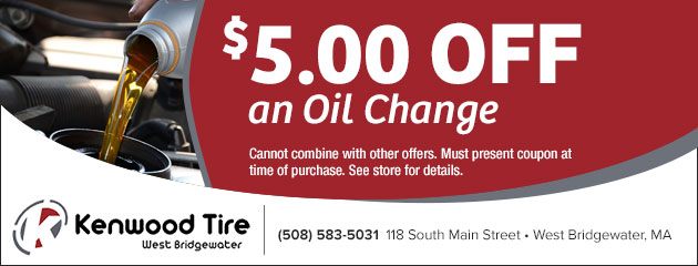 $5.00 Off an Oil Change Coupon