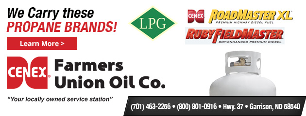We carry: Ruby Fieldmaster, Roadmaster XL, Propane