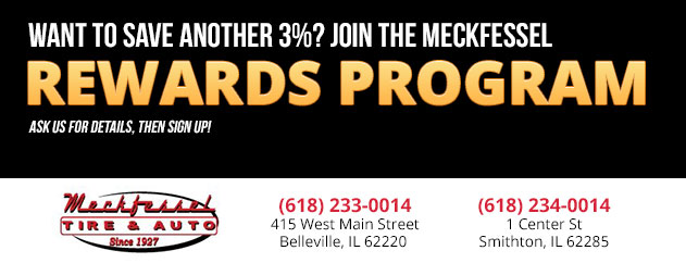 Want to Save another 3%? Join the MECKFESSEL REWARDS PROGRAM