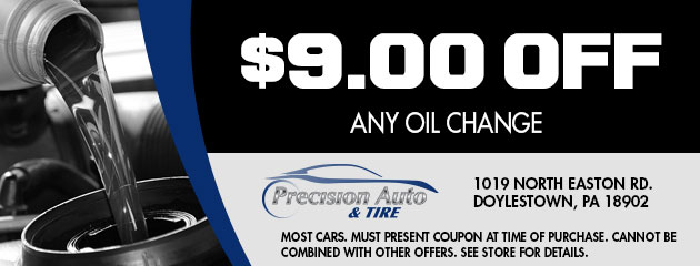 $9.00 Off Any Oil Change