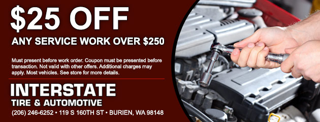 $25 Off Service Over $250