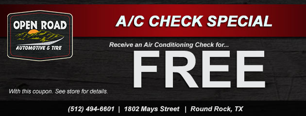 Free A/C Check Special
