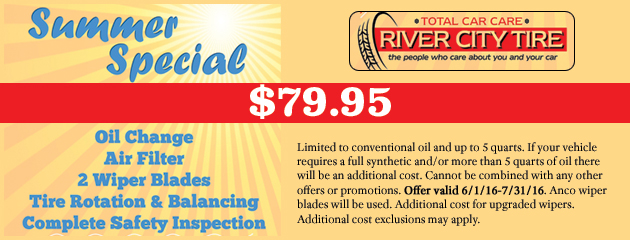 Summer Service Special - $79.95