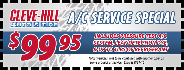 A/C Special - $99.95