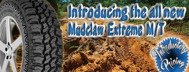 Introducing the All New Mudclaw Extreme M/T