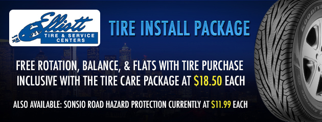 Tire Install Package