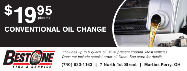 $19.95 conventional Oil Change Coupon
