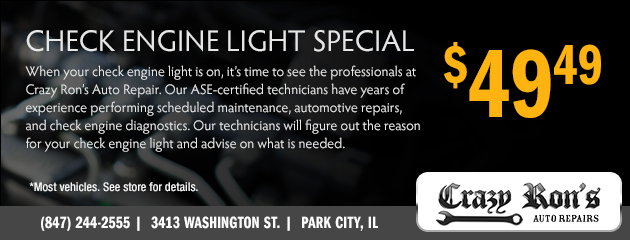 $49.49 Check Engine Light Special