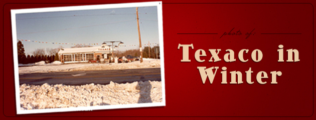 Photo of Texaco in Winter