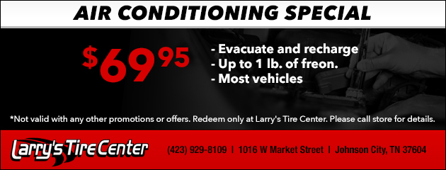 Air Conditioning Special - $69.95