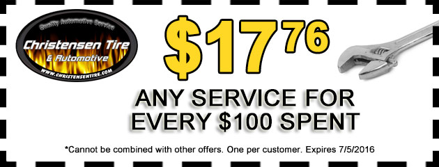 $17.76 off any service for every $100 spent