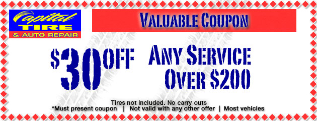 $30 Off Any Service Over $200