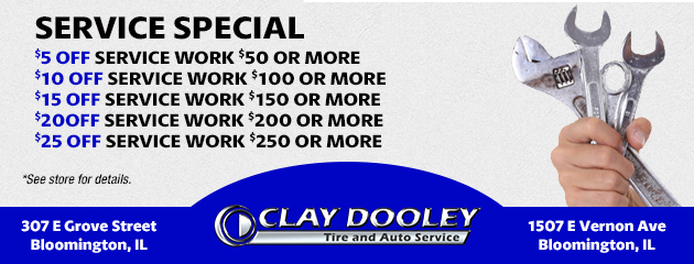 Service Special Save up to $25 Off