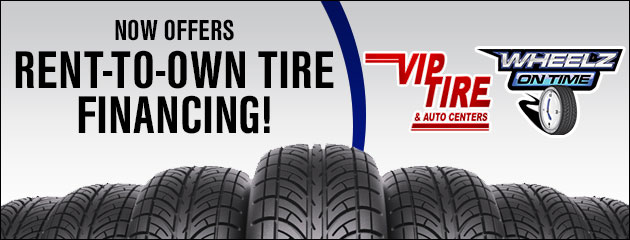 Now Offering Rent to Own Tire Financing!