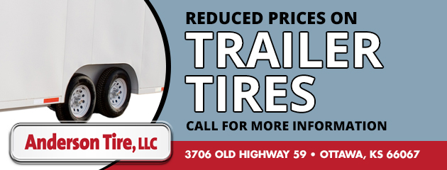 Reduced prices on trailer tires