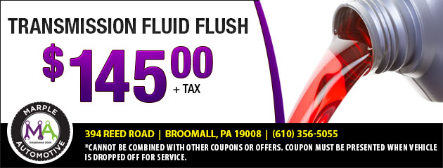 Transmission Fluid Flush 145 00 Plus Tax