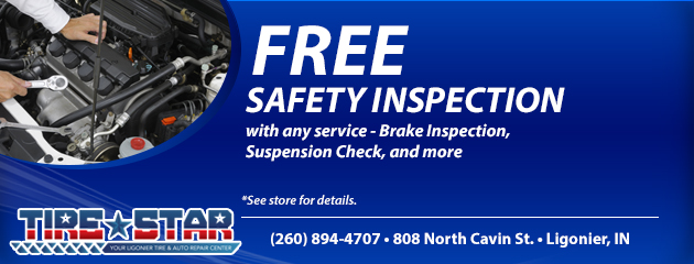 Free Safety Inspection with any service