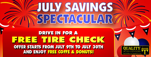 July Savings Spectacular