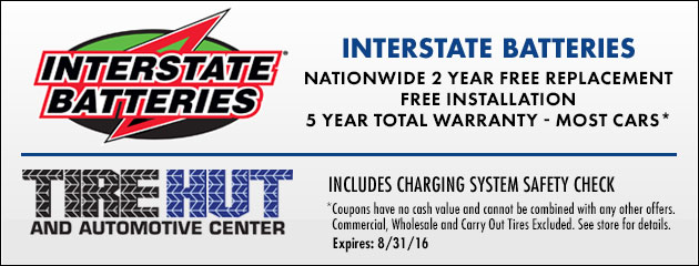 Interstate Batteries Nationwide Warranty