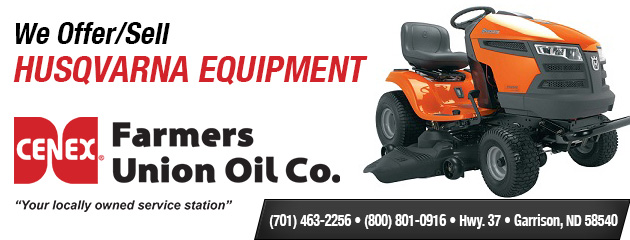 We carry Husqvarna Equipment. Click here for more information!