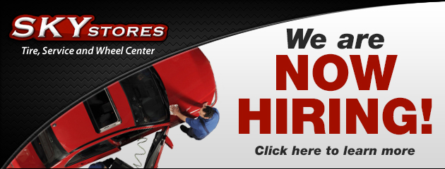 Now Hiring, click here to learn more