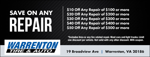 Save On Any Repair