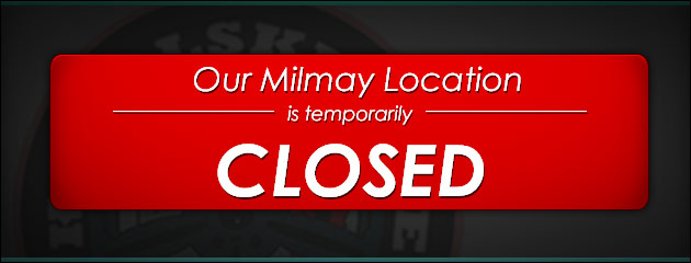 Milmay location is temporarily closed!