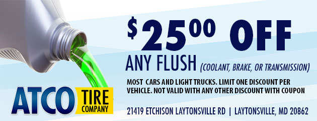 $25 Off Any Flush
