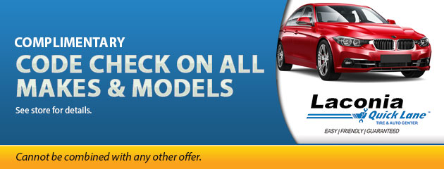 Complimentary Code Check on all makes and models