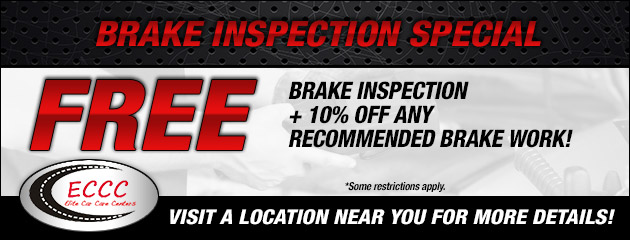 Free Brake Inspection plus 10% Off