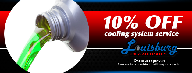 10% Off a Cooling System Service