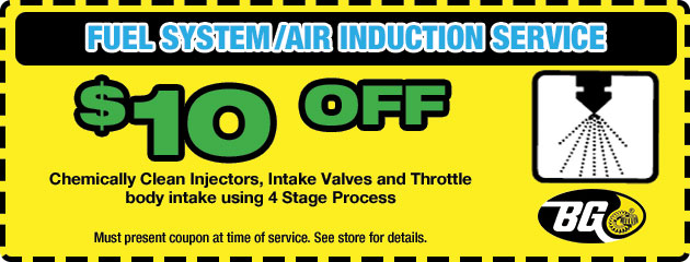 $10 Off Fuel System Air Induction
